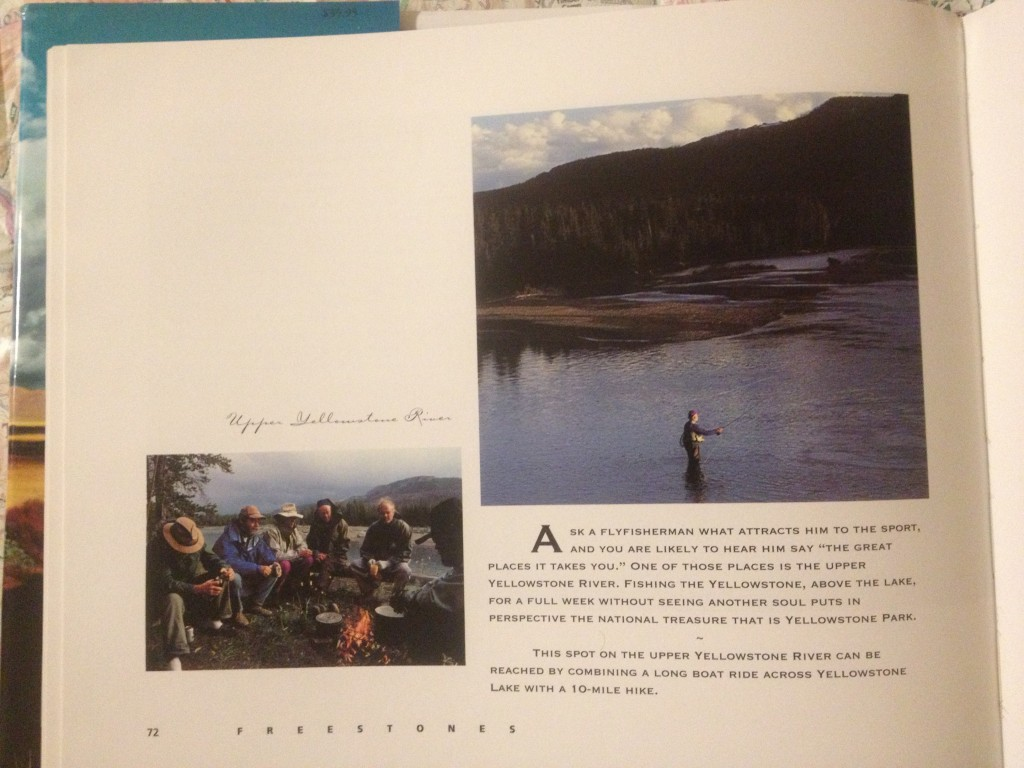 Page 72 in Flywater - the Upper Yellowstone River.