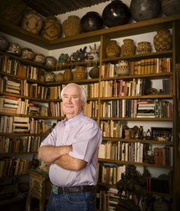 Forrest Fenn at his home in Sante Fe, NM
