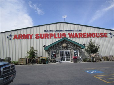 The Army Warehouse has everything you need to go treasure hunting!